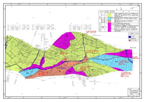 地質平面図